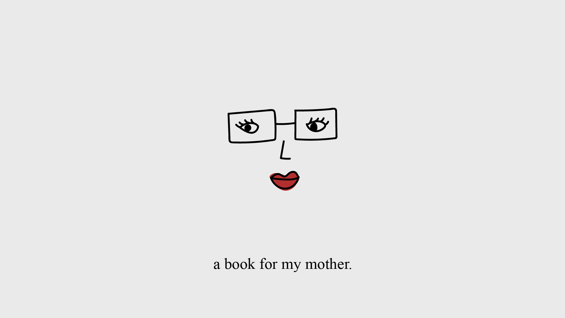 A Book for my Mother
